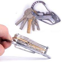 Карабин edc отвертка ключ брелок многофункциональный инструменты открытый