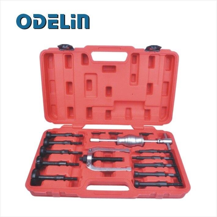 16pc conjunto extrator de rolamento extrator cego conjunto de remoção de rolamento interno