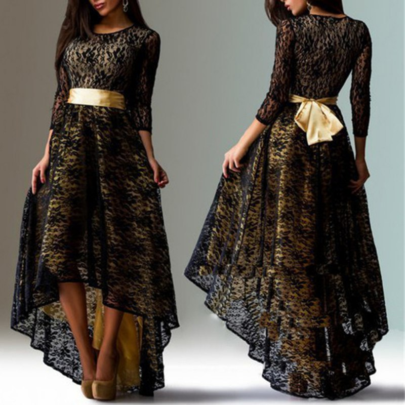 Dress Formal for women with sleeves new photo