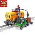 Ausini modelo kits de construcción modelo compatible con lego city train 451 3D bloques Educativos y de construcción de juguetes y pasatiempos para niños