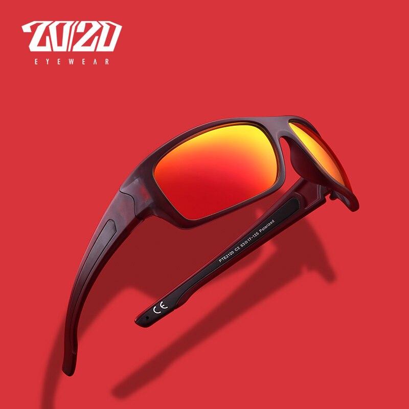 20/20 Brand New Polarized Sunglasses Men Sun Glasses Male Driving Fashion Travel Eyewear UV400 Men's Oculos PTE2120