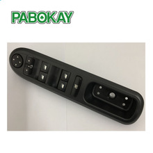 купить Electric Window Switch Control Panel for Peugeot 407 SW 2004 2005 2006 2007 2008 2009 2010 6C_ 6D_ 6E_ OE: 6554.ER 96468704XT онлайн