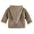 Lindo Enarboló El Casquillo Del Niño Del Bebé Niñas niños Sweatershirt Manga Larga Del Otoño Del Resorte 2017 Nueva Grueso Sólido Embroma la Ropa Unisex T4788