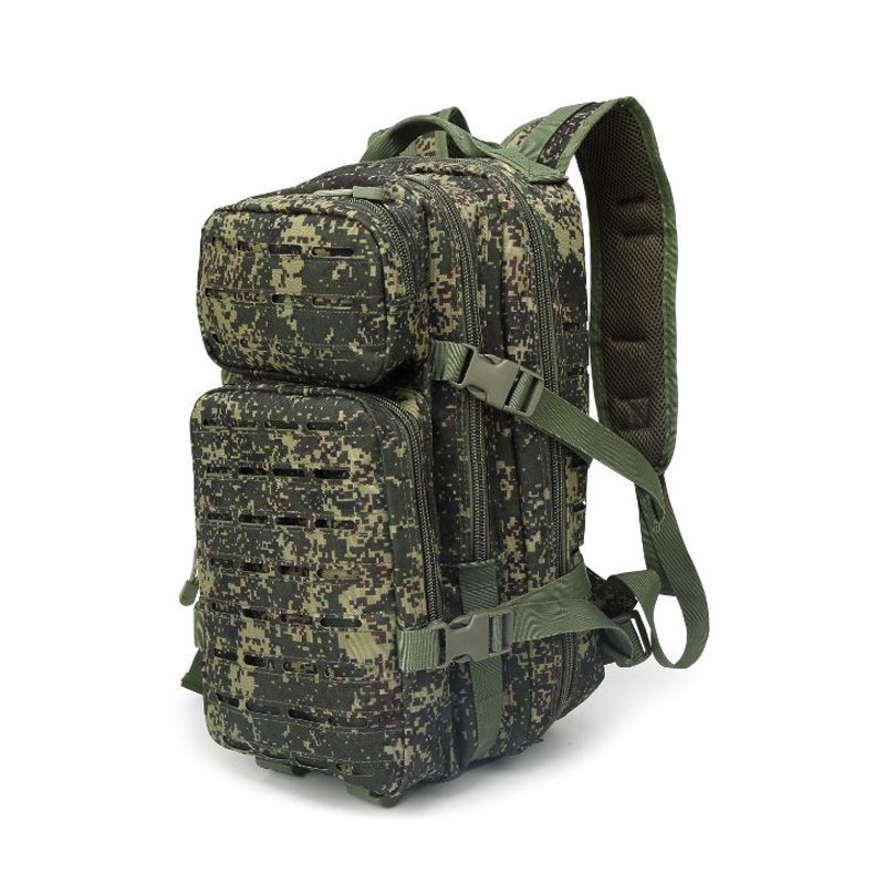 Tactical Backpack Outdoor Camo Large Capacity Backpack Molle Army Military Assault Bag Multifunction Fishing Hunting Camping