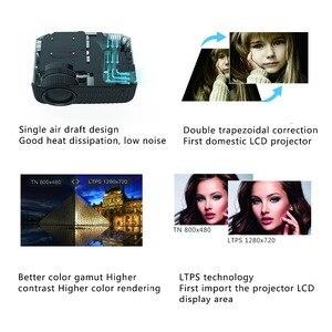 Image 4 - TouYinger T4 جهاز عرض صغير LED HDMI 1280x720 المحمولة متعاطي المخدرات USB السينما المنزلية (اختياري السلكية مزامنة عرض هاتف لوحي)