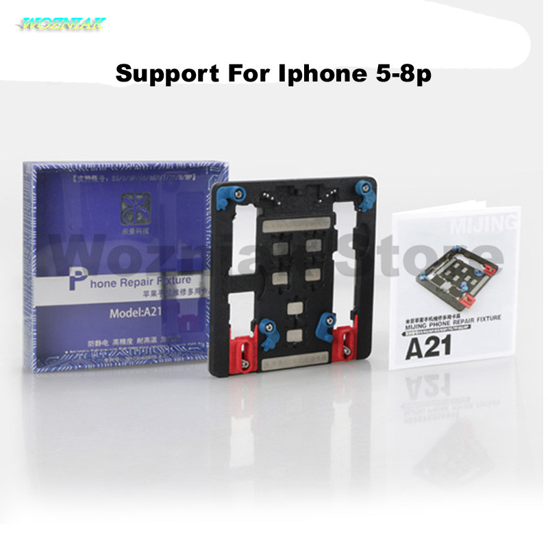 Wozniak Mobile Phone Motherboard Fixture NAND CPU Maintenance Fixture for Iphone 5s 6g 6s 6sp 6plus 7g 7 puls 8 8p A8 A9 A10 A11