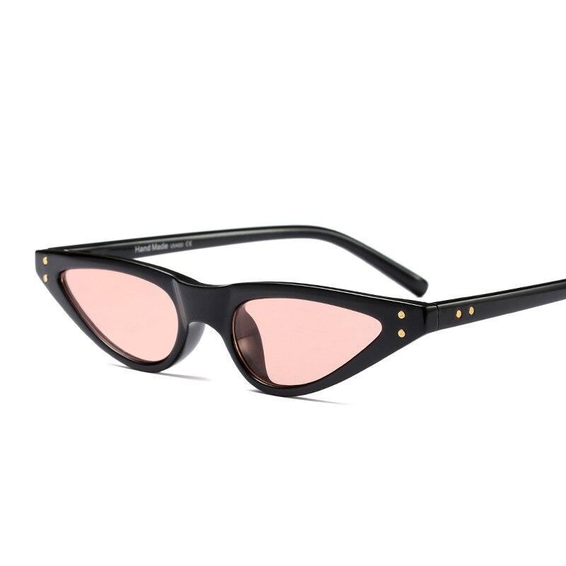 338ac0e29e808 Best buy Small Cat Eye Sunglasses Women Brand Designer Retro Black Sun  Glasses for Women Ladies Cateye UV400 Gafas Oculos De Sol online cheap