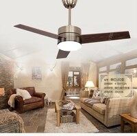 Европейский бронзовый вентилятор потолочный светильник вентилятор огни светодио дный минимализм современная мода потолочные светильники