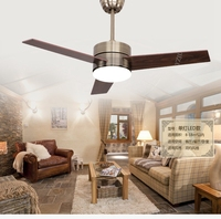 Европейский бронзовый вентилятор свет Потолочная люстра с вентилятором светодиодный минимализм современная мода потолочные светильники