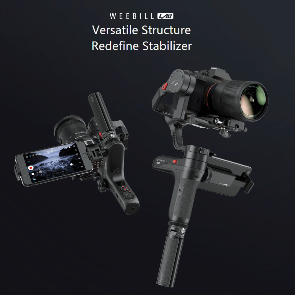 ZHIYUN Weebill LAB 3 Axis Handheld Gimbal DSLR Camera Stabilizer Handheld Estabilizador Celular Gimbal VS zhiyun smooth 4 Gimbal цена