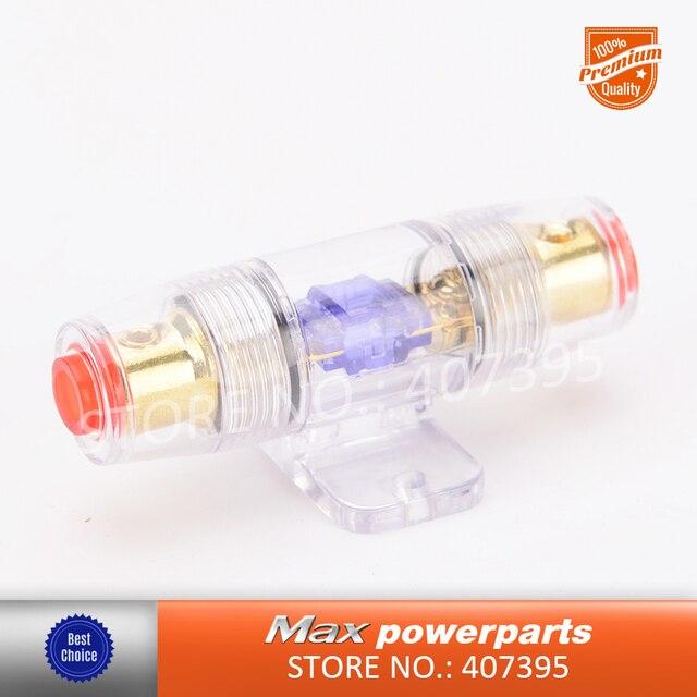 Best Price 1PCS 60A Fuse Holder Fuse holder Block for Car Speaker Subwoofer Audio Amplifier