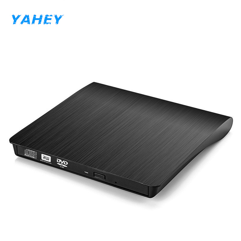 USB 2.0 External CD/DVD ROM Player Optical Drive DVD RW Burner Reader Writer Recorder Portatil for Laptops PC Windows 7/8/10 victsing slim usb 2 0 drive cd dvd rw burner writer external optical drive with usb cable for apple macbook desktops laptops