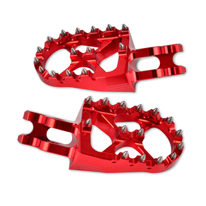 Motorcycle Foot Pegs Rest Footrest For Honda CRF250R CRF250X 2004-2017 CRF 250R 250X CR125R CR250R 2002-2007 CRF150R 2007-2018(China)