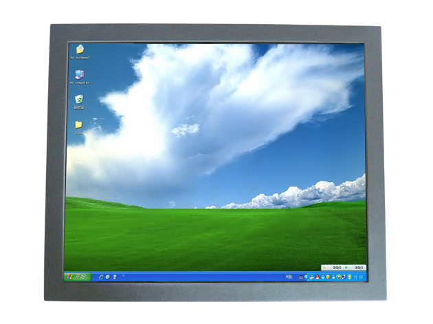 19 Inch Open Frame PC With SAW Touch Screen,lcd touch screen monitor For Industrial Portable PC