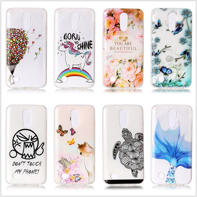 lg k20 case. for lg k20 plus case silicone funny animal clear back cover k20plus k10 2017 lg f