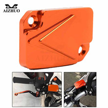 цена на Motorcycle Front Brake Fluid Reservoir Cover Cap For KTM DUKE 125 200 390 RC 125 200 390 2013 2014 2015 2016 2017