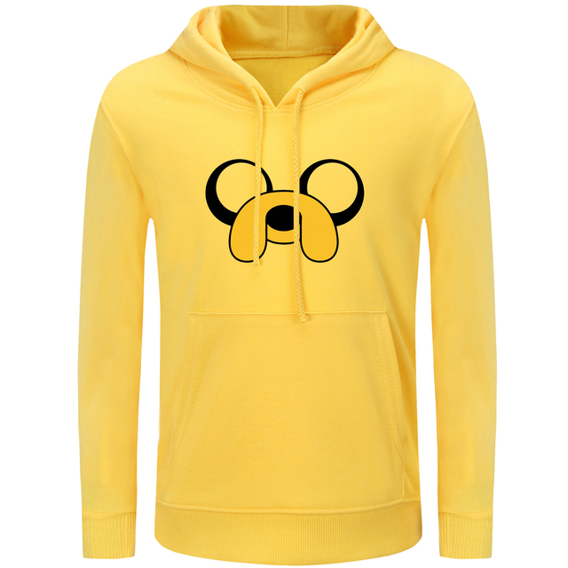 7748eec88e iDzn Harajuku Printed Women s Hoodies Cartoon Adventure Time with Finn and Jake  Dog Casual Style Girl s Sweatshirts Tops S-3XL