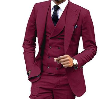2019 New Fashion Wedding Mens Suits (Jacket+Pants+Vest+Tie) 3Pieces Custom Made Tuxedos For Prom Italian Stylish Mens Suits