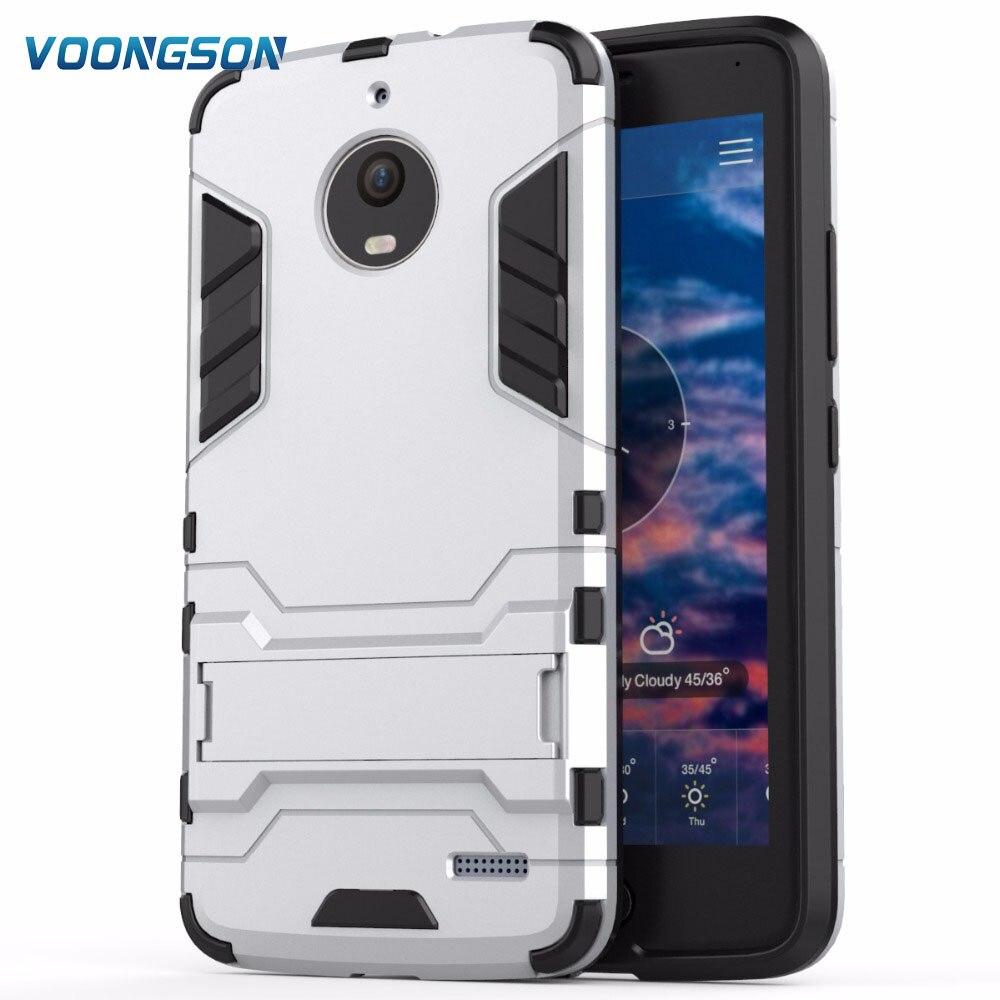 New Hot Sale Hybrid Dual Heavy Duty Hard Silicone Iron Man Shield 3D Armor Cases For Motorola Moto E4 XT1762 XT1772 Cover Capa