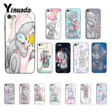 Yinuoda Tatty Teddy Me To You ours couverture noir coque souple téléphone étui pour iphone X XS MAX 6 6S 7 7plus 8 8Plus 5 5S XR(China)