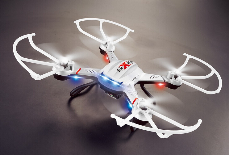 ФОТО 1pcs 2.4GHZ 4CH remote control radio fly cam 6 axis Gyro quadcopter with 2 mega camera 360 degree eversion via EMS shipping
