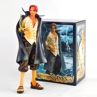 10 One Piece PVC Action Figure Toys Boxed 24CM shankusu Banpresto Collection Model Gift Free Shipping