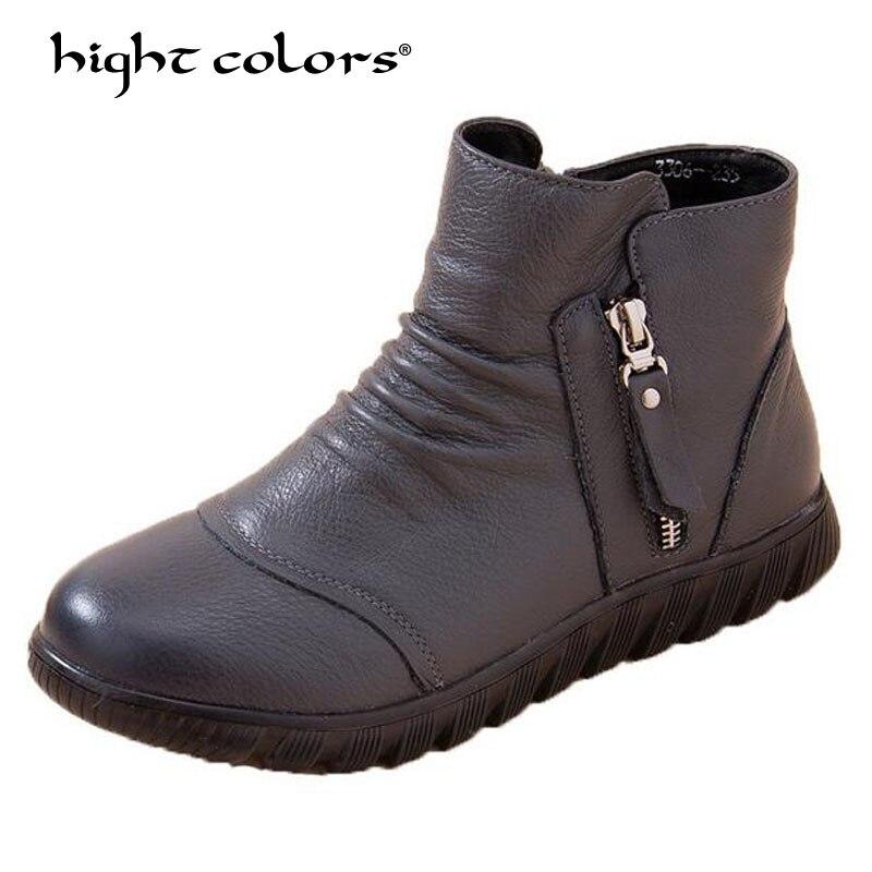 644e7196ea5ba4 Femmes 39 mollet Vente Talon Femme Chaude Chaussures Mode Black Taille  Souple D'hiver gray Lacent Carré Automne ...