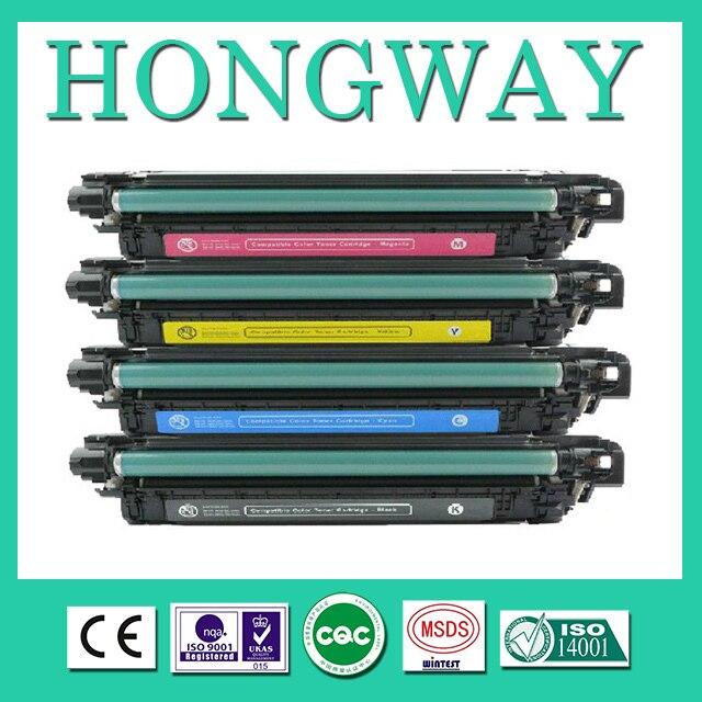 Совместимый для лазерных принтеров Картриджи Для HP 400A тонер-картридж, пополнен для HP Laserjet Enterprise 500 Цвет M551