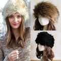 New Fashion Winter Russian Cossack Style Faux Fur Hat Ski Head Earwarmer