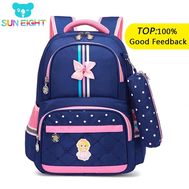 08998b4a0e3c Солнечная восьмерка ортопедические школьный рюкзак для девочек школьные  сумки дорожные рюкзаки детские сумки школьная сумка школьные