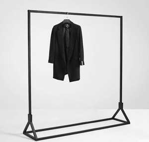 Rack.-Floor-Hangers. Clothing Store-Display Wall-Hanging. Multi-Functional Wear The Wall..067