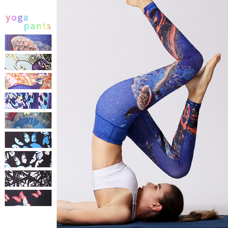 f4de1f98d Yoga Leggings Sport Fitness Femmes Taille Haute Yoga Pantalon ...