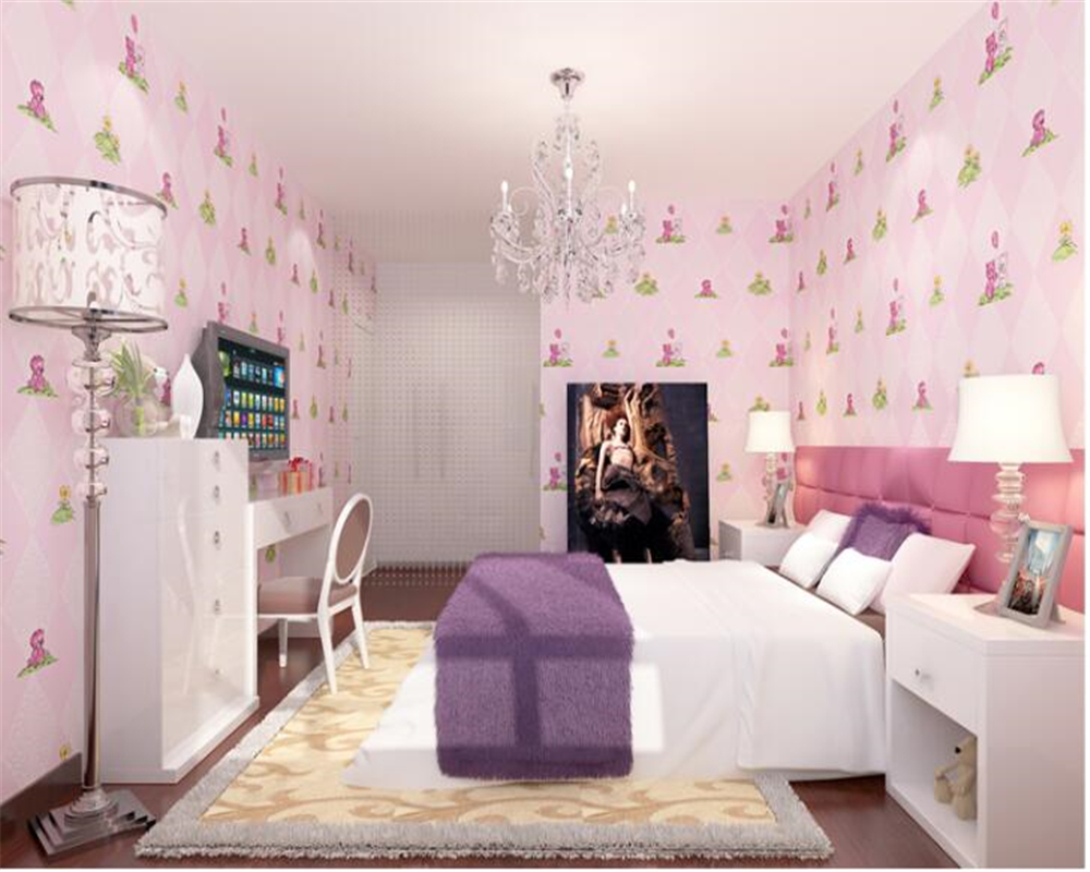 beibehang Family decoration children room papel de parede 3d wallpaper little bear nonwoven boy girl room warm bedroom wallpaper beibehang three dimensional pastoral floral nonwoven 3d wall paper warm pink children s bedroom girl bedroom european wallpaper