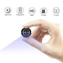 SQ6 мини Камера 1080 P Сенсор Портативный безопасности видеокамера Малый cam Ночное видение обнаружения движения Поддержка Скрытая TFcard pk sq 9