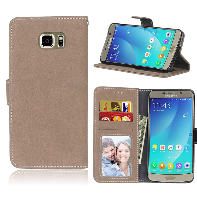 PU leather case For coque Samsung Galaxy note5 mobile hoesjes cases for samsung galxy note 5 SM-N920 N9200 SM-N9200 N9208 cover