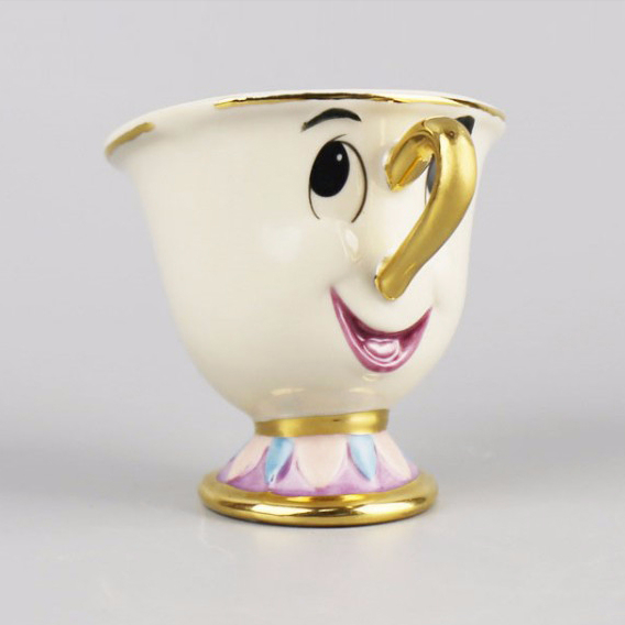 მულტფილმი Beauty and The Beast Tea Mug - სამზარეულო, სასადილო და ბარი - ფოტო 5