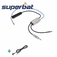 DAB Car Radio Receiver FM AM To DAB FM AM Aerial Antenna Amplifier Converter Splitter With