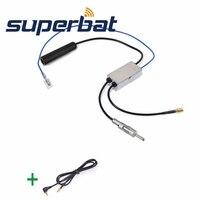 DAB Car Radio Receiver FM AM To DAB FM AM Aerial Antenna Amplifier Converter Splitter With