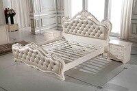 F81106 современная мебель для спальни заводская цена деревянный во французском стиле кровать