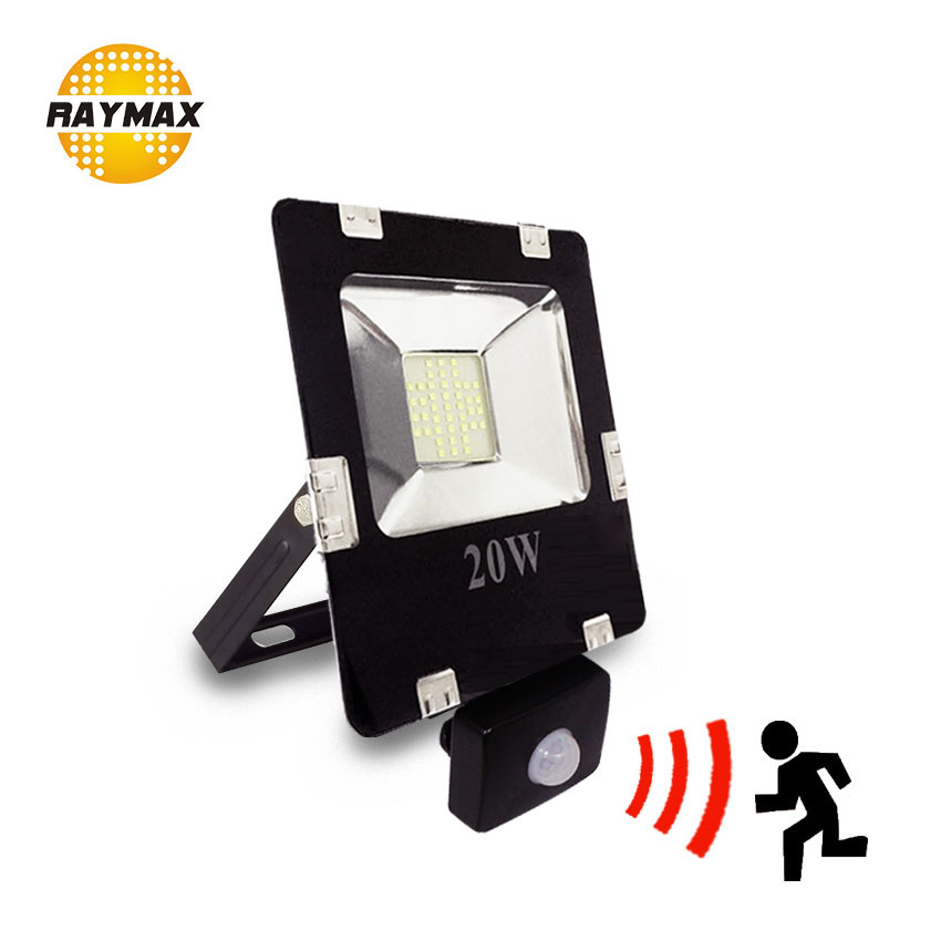 PIR sensor led floodlight 10w led out door lighting 100w led spotlight outdoor reflector led 50w projector led flood light 220v купить недорого в Москве