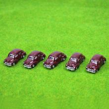 5 יחידות דגם מכוניות קלאסי 1:100 TT נוף חדש רכבת רכבת בקנה מידה HO לבניית C10012 דוגמנות רכבת