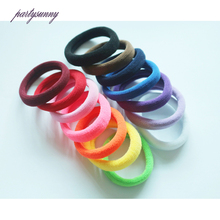 PF 5Pcs Ladies Hair Ring Rubber Bands Ties Elastic Hair Bands Rope Hair Accessories for Girl Women Scrunchie Gum Holder TS0650