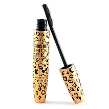 3D Fiber Black Curling Long Eye Lashes Mascara Naturally Leopard Mascara Hot Sale