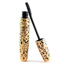 3D Fiber Black Curling Long Eye Lashes Mascara Naturally Leopard Mascara Hot Sale