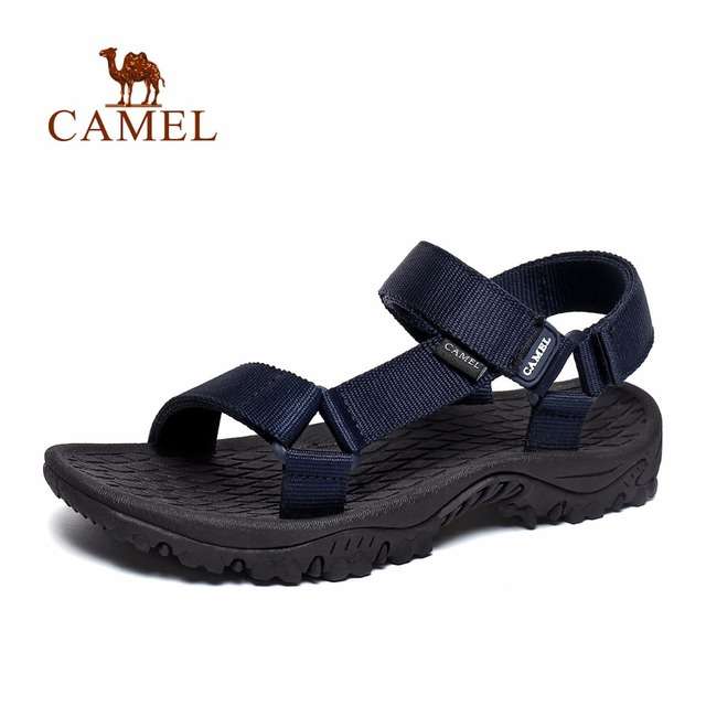 Camel 2018 Spring and Summer New Couples Outdoor Casual Sandals Antiskid  Breathable Wear Resistant Scratch Resistant