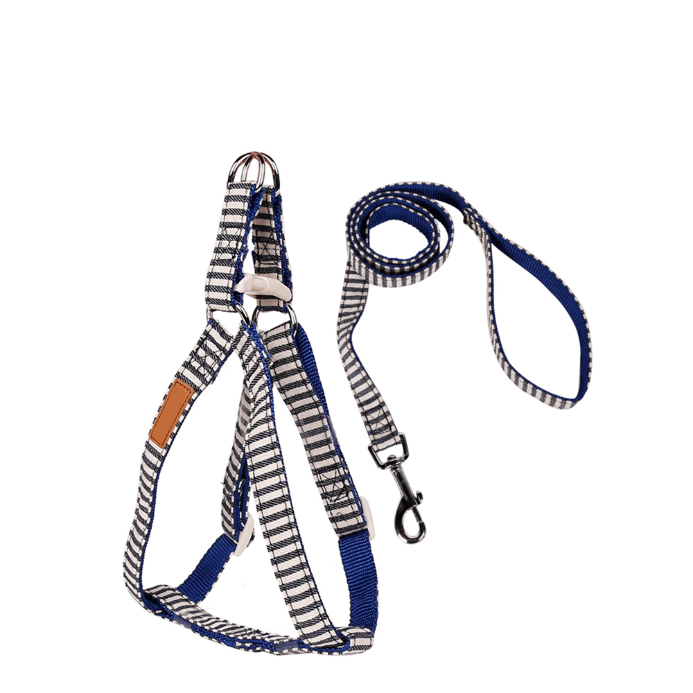 Reflective Firm Pet Dog Harness Nylon Large Dog Leashes