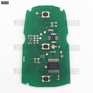 Image 4 - WALKLEE mando a distancia inteligente para BMW sistema CAS3, 1/3/5/7 Series X5 X6 Z4 315LP 315MHz 433MHz 868MHz, Chip PCF7945 opcional