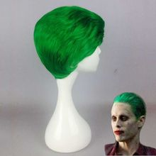 MCOSER Suicide Squad Jared Leto Batman Joker Green 30cm Hair Synthetic High Quality Fashion Party Halloween Cosplay Costume Wig