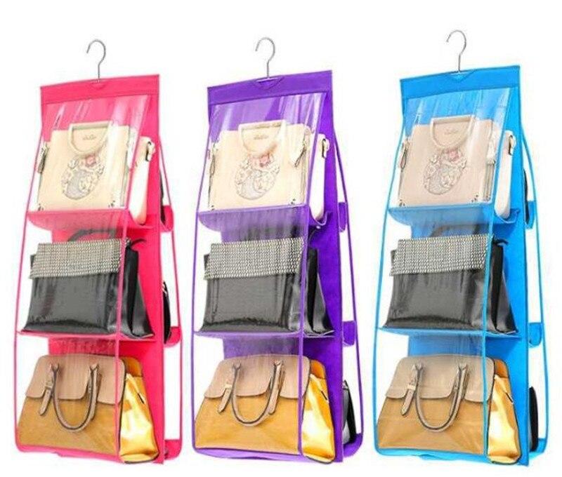 Органайзер 6 Карманный складной висит сумочка для хранения висит, кому не лень обувь, сумка для хранения закрыть товары для дома