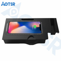 Aotsr Wireless car charger for BMW x3/x4 2018 2019 Intelligent Infrared Fast Wirless Charging Car for Phone/Sangsum/Nokia/LG